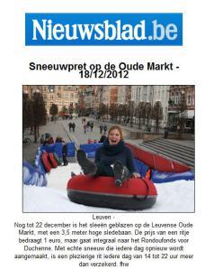 Nieuwsblad - 18 Dec 2012